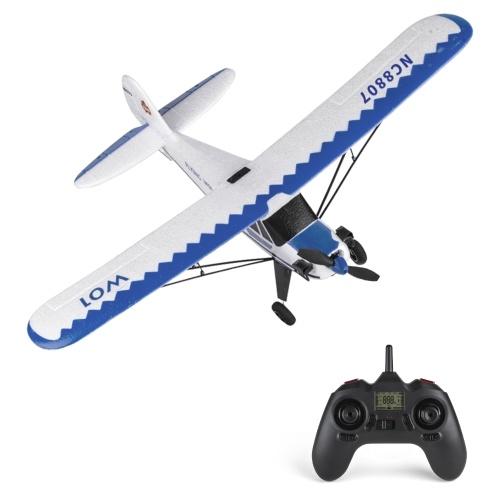 YU XIANG W01 RC Самолет 2,4 ГГц 3CH 6-осевой гироскоп RC самолет Планирование J3 Модель самолета летные игрушки для взрослых детей мальчиков