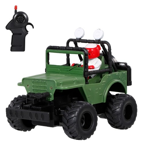 2.4 GHz 1:32 Remote Control Car Off Road RC Cars Electric Toy with Lights