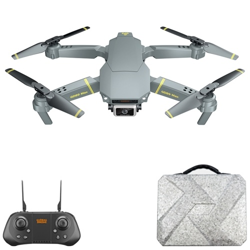 GD89 MAX GPS 6K Camera Drone Gimbal Regolabile a 90 ° Quadricottero RC con custodia