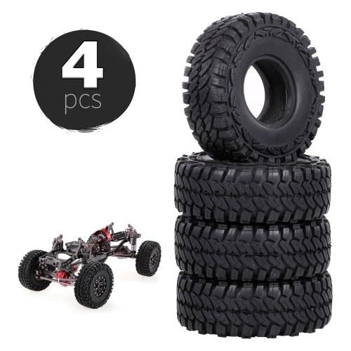 4PCS 110 mm 1.9in neumáticos de goma para 1:10 RC Rock Crawler Compatible con Axial Traxxas Hsp Redcat Rc4wd Tamiya Axial Scx10 D90 Hpi RC Car