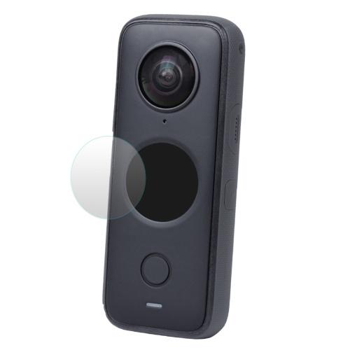 ONE X2 Displayschutzfolie HD-Hartglasfolie Kompatibel mit Insta360 ONE X2 Sportkamera Zubehör 9H Härte Ultra-Clear 2 Set