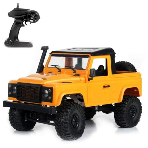 MN-91 RC Crawler 1:12 Scale Remote Control Car 2.4Ghz 4WD Rock Crawler with LED Lights Image