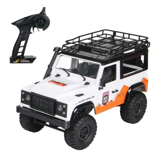 MN-99 1/12 4WD 2.4Ghz Off Road Car RC Rock Crawler Cross-country RC Truck Toy com farol para adultos e crianças