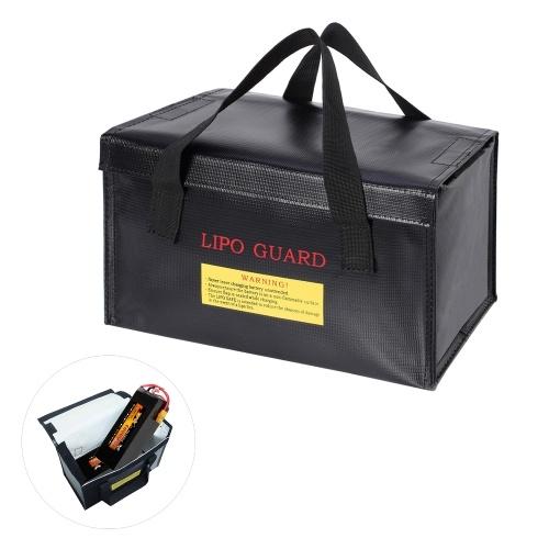 260 * 130 * 150mm Bolsa segura para lipo para bateria à prova de explosão à prova de explosão bolsa de armazenamento de bateria à prova d'água