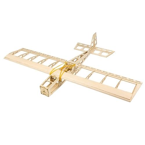Dancing Wings Hobby R03 STICK-06 Flugzeug 580mm Flügelspannweite Balsaholz Flugzeug DIY Flying Toy KIT Version