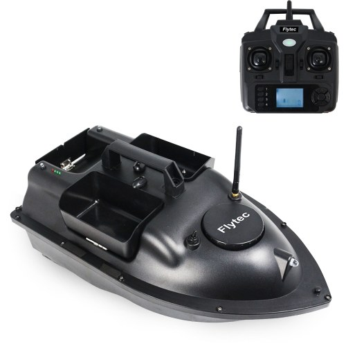 Flytec V010 GPS Fish Bait Boat 2kg Loading Tanks Fishing Bait Boat 500m Remote Control 3-way Baiting Intelligent Return Fishing Boat Image