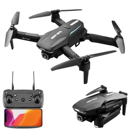 2003 5G WIFI GPS 4K Camera RC Drone 4K Dual Camera Drone Positioning Gesture Photo Video Optical Flow Positioning Smart Follow Quadcopter