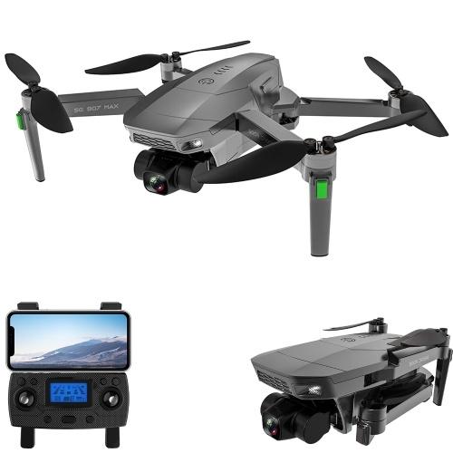 ZLL SG907 MAX GPS RCドローン(カメラ付き)4K3軸ジンバルブラシレスモーター5GWifiビデオ空中FPVクワッドコプタースマートフォローモード(500m画像伝送ボックスパッケージ)
