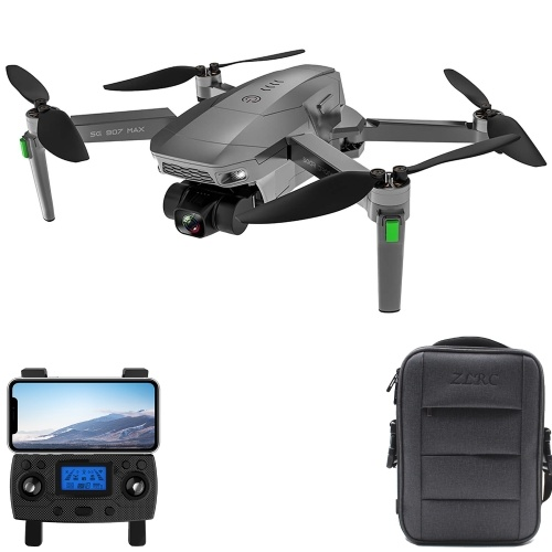ZLL SG907 MAX GPS RC Drone with Camera 4K 3-axis Gimbal Brushless...