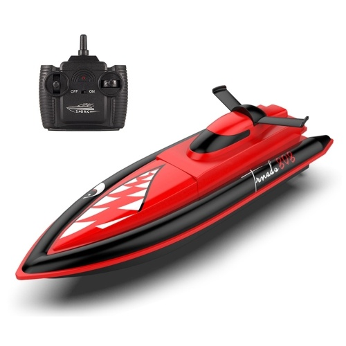2.4GHz 25Km/h RC Boat Remote Control Boat RC Boat Waterproof Toy Racing Boat Gift for Kids