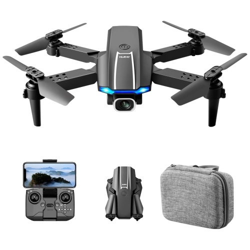 YLR/C S65 Mini RC Drone RC Quadcopter with Function Headless Mode One Button Takeoff Landing Storage Bag Package