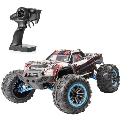 F21A 1/10 2.4Ghz 4WD 80km/h Off-road Car RC Racing Climbing Car Brushless Motor Water Drifting Alloy Frame