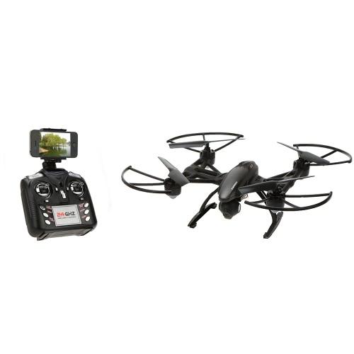 JXD 509W 6-Axis Gyro Wifi FPV RC Quadcopter z 0.3MP kamery wysokiej przytrzymaj mode CF One Key Powrót Drone Telefony sterowania Zabawka