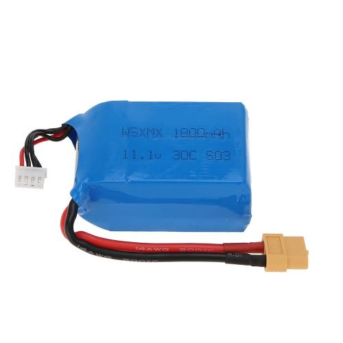 11.1V 1800mAh 30C 3S XT60 connecteur batterie Li-Po pour QAV250 H250 200 240 260 280 RC F330 Quadcopter