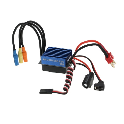 2845 3100KV 4P Sensorless Brushless moteur & 35 a Brushless ESC Electronic Speed Controller pour 1/14 1/16 1/18 RC voiture