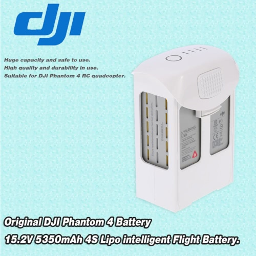 Original DJI Phantom 4 Battery 15.2V 5350mAh 4S LiPo Intelligent Flight Battery