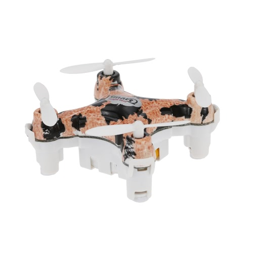 Original Chead CX-10D 4CH 6-Axis Gyro RTF Mini RC Quadcopter com 360 ° Flips e Height Hold Function
