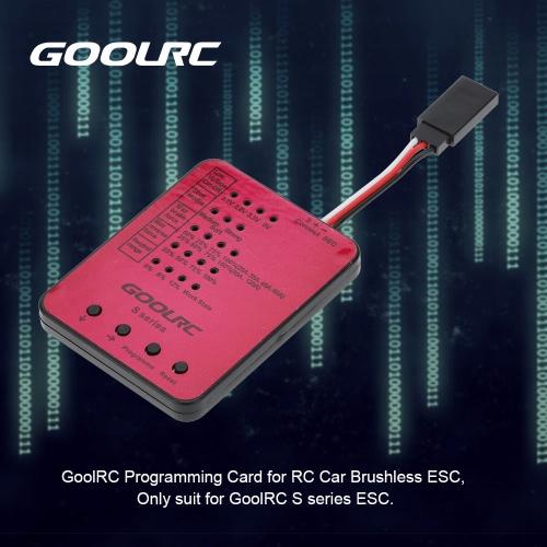 GoolRC serii S-45A / S-120A RC Car ESC programowania kart