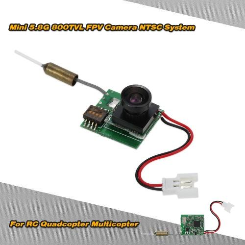Mini 5.8G 200mw 800TVL Wide Angle 170 Degree FPV Camera NTSC for QAV250 QX80 QX90 QX110 Blade Inductrix FPV Racing Quadcopter