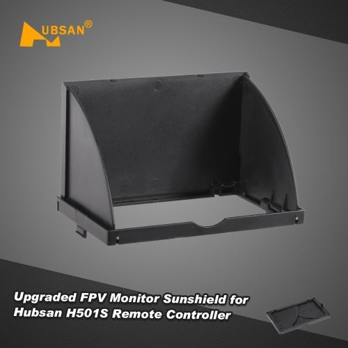 Upgraded Remote Control Sunshield Cover/FPV Monitor Sunshield for Hubsan H501S Remote Controller