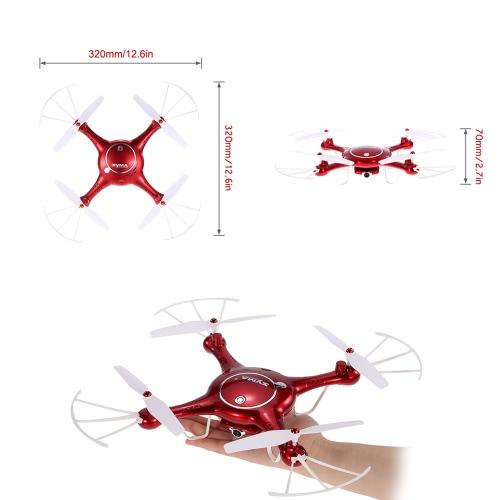 Cyfrowy aparat fotograficzny Syma X5UW 720p HD FPV RC Drone z zaplanowaną funkcją lotu