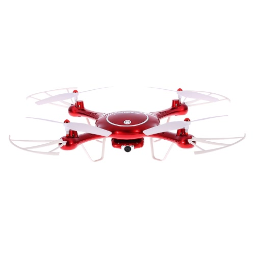 Original Syma X5UW Wifi FPV RC Drone 720P Câmera HD RTF Quadcopter com modo sem cabeça e Barómetro Set Height Function