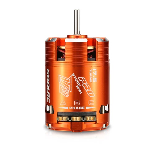 GoolRC 540 17.5T SPEC 2200KV Sensored Brushless Timing Motor ajustable para 1/10 RC Car