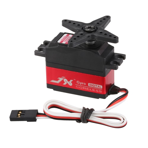 JX PDI-2535MG 25g Metal Gear Digital Coreless cola Servo para RC 450 500 helicóptero Avión de ala fija