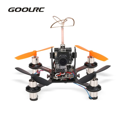 Original GoolRC G90 90mm FPV Indoor Micro Drone 800TVL Camera Flysky Receiver F3EVO Brushed Flight Controller BNF