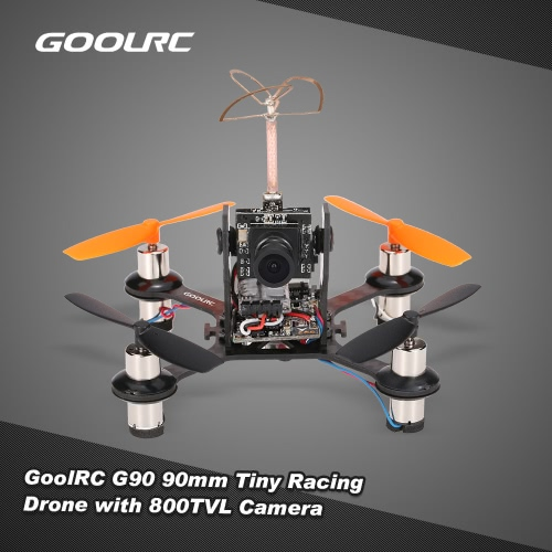 GoolRC G90 90mm FPV Indoor Micro Drone 800TVL Camera Flysky Receiver F3EVO Brushed Flight Controller BNF