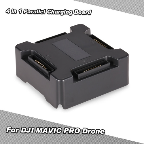 4 in 1 Charger Charging Board w/ Smart Digital Display Battery Butler Nanny for DJI MAVIC PRO Drone Quadcopter