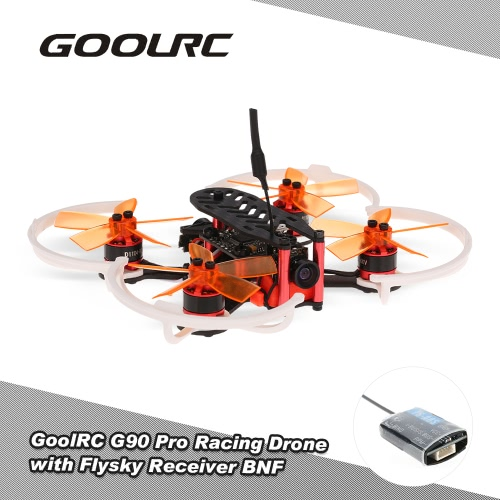 GoolRC G90 Pro 90mm 5.8G 48CH Micro FPV Racing Drone Brushless Motor Quadcopter w/ Flysky Receiver F3 Flight Controller BNF