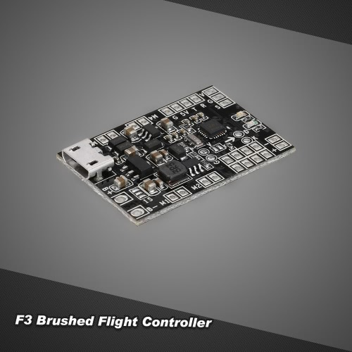 F3 Brushed Flight Controller Based on SP RACING F3 EVO Support PPM SBUS Receiver for QX95 QX90 QX80 GoolRC G90 Q100 LT105 Micro Indoor FPV Racing Quadcopter
