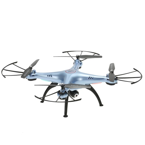 SYMA X5HC 2.4GHz 6-axis Gyro 2.0MP Camera Drone Height Hold Quadcopter modo CF com uma bateria extra