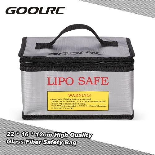 GoolRC 22 * 16 * 12cm High Quality Glass Fiber RC LiPo Battery Safety Bag Safe Guard Charge Sack