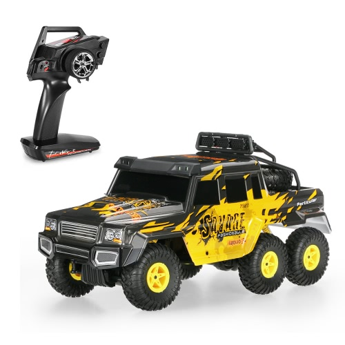 Original Wltoys 18629 1/18 2.4G 6WD Electric Off-Road Rock Crawler Climbing RC Buggy Car RTR