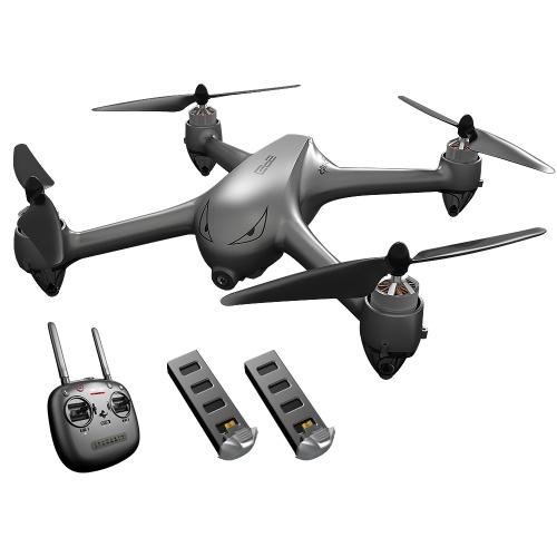 MJX B2SE GPS RC Drone с камерой 1080P 5G Wifi FPV Бесщеточный Quadcopter с 2 батареями Follow Me Высота Hold