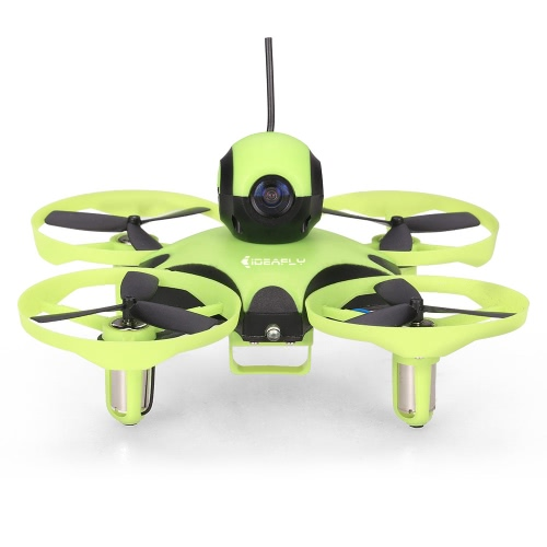 Ideafly Octopus F90 90mm 5.8G 600TVL Camera FPV Micro RC Racing Drone BNF Quadcopter with Frsky Receiver