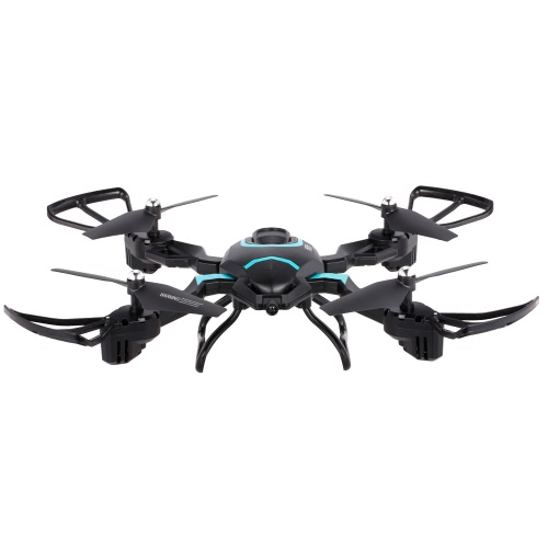 QI ZHI TOYS QZ-S8 2.4G 6 Axis Gyro 3D Flip Складная безголотная высота Hold RC Quadcopter