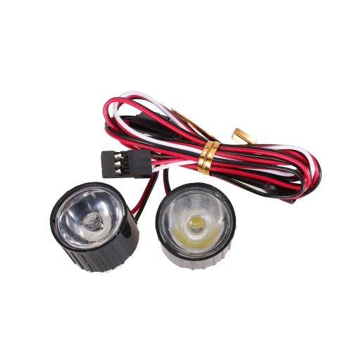 AUSTAR AX-006A 3W Highlight LED-Leuchten mit Controller Board für 1/10 Rock Crawler Traxxas Redcat AXIAL RC Car