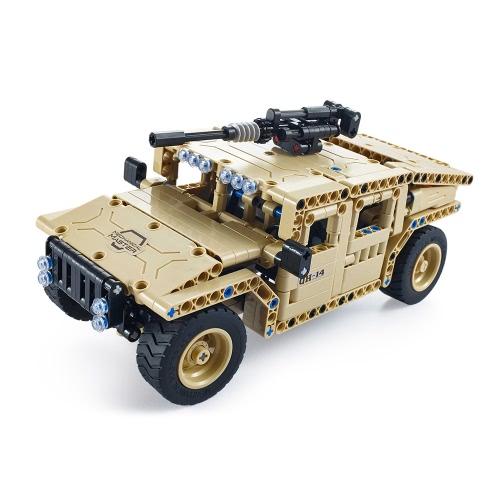 457Pcs Utoghter 69003 2.4G RC bewaffnetes Geländefahrzeug-Baustein-Installationssatz-Spielzeug-Ziegelsteine RC Auto-Modell