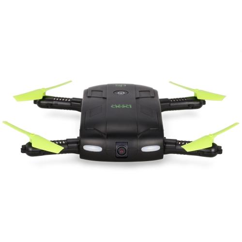 DHD D5 Wifi FPV 480 P Kamera Faltbare Selfie Drone 6-achsen-gyro Höhe Halten Flight Path RC Quadcopter mit Einem Extra-akku