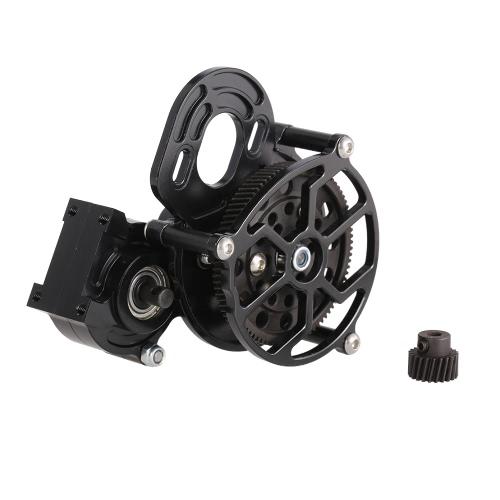 Getriebe Case Center Getriebe mit Motor Getriebe für 1/10 Axial SCX10 AX10 RC Crawler Auto