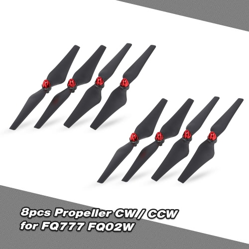 8pcs Propeller CW CCW for FQ02W Utoghter 69508 FPV Quadcopter