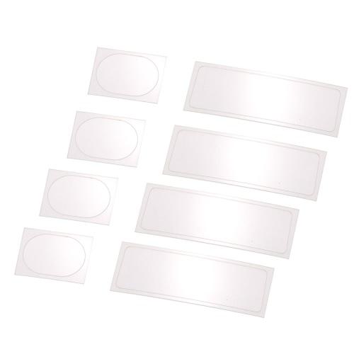 4 пары объектива камеры Защитная защитная пленка Гибкая пленка из стекловолокна для DJI Spark