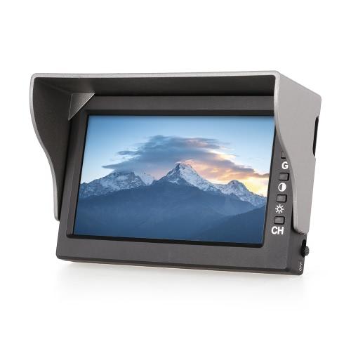 MJX D43 5.8G FPV Receiver Monitor 4.3 pouces Écran d'affichage pour MJX G3 Goggles Bugs 6 Bugs 8 B8 B6 5.8G FPV Drone Quadcopter