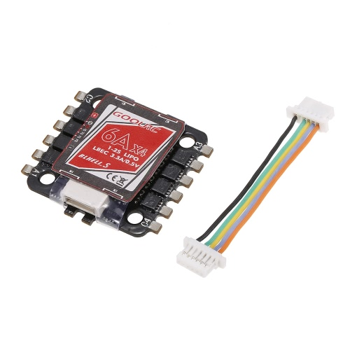Original GoolRC 4 in 1 6A ESC 1-2S BLHeli_S Oneshot125 Multishot for 80 90 100 Tiny Micro FPV Racing Quadcopter