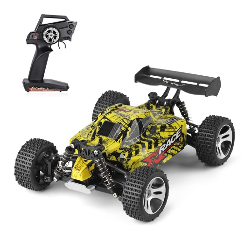 Original WLtoys 18401 2.4GHz 4WD 1/18 25km/h Brushed Electric RTR Off-road Buggy RC Car
