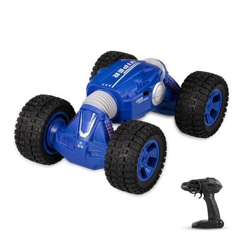 1/16 2.4G 4WD Flip a due lati Flip One Key Trasformazione RC Stunt Car
