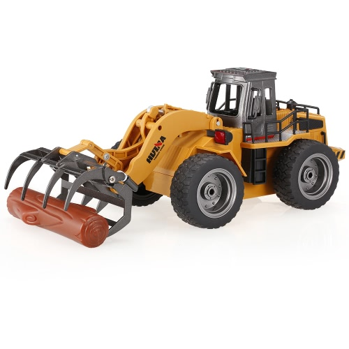 HUINA TOYS 1590 1/18 2.4Ghz 6CH Timber Grab Engineering Truck RC Car Kids Toys Gift